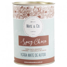 Yerba Mate Mate & Co. Lata 220Gr Spicy Choco