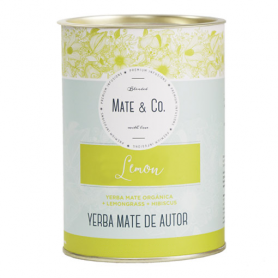 Yerba Mate Mate & Co. Lata 250Gr Lemon