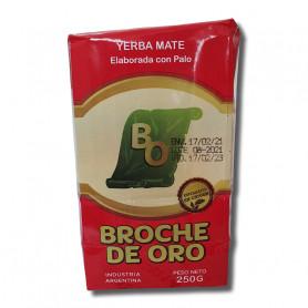 Yerba Mate Broche de Oro Tradicional 250Gr