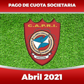 CAPRI - Cuota 04/2021 - ABRIL 2021