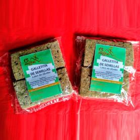 Galletitas saladas libre de gluten 100% natural - 13 Millas