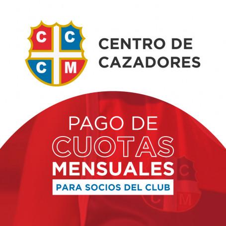 Pago de cuotas - Club Centro de Cazadores - Socio familiar