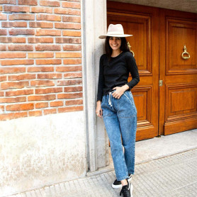 Jeans con cordones - India Store