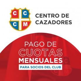 Pago de cuotas - Club Centro de Cazadores - Socio Individual