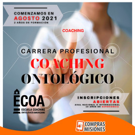 Cuota mensual para la escuela de Coaching Profesional ECOA