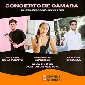 Entradas al Concierto de Cámara - Música de los siglos XX Y XXI