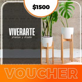 Voucher  Viverarte - Plantas y diseños $1500
