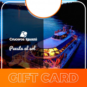Gift card para la puesta al sol con Cruceros Iguazú - Victoria Austral