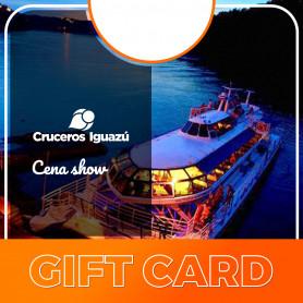 Gift card para Cena & Show Crucero Iguazú - Victoria Austral