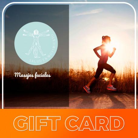 Gift Card para masajes faciales  - Sel Salud en Movimiento