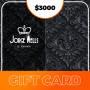 Gift Card para Jorge Wells La Mansión - $3000