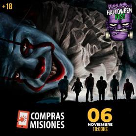 Entradas para Halloween fest en Puerto Mbiguá Ituzaingó Corrientes