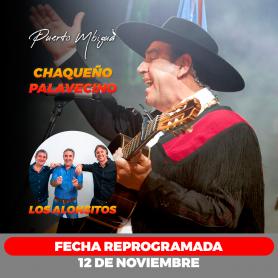 Chaqueño Palavecino y Los Alonsitos en vivo en Puerto Mbigua Ituzaingo- fecha 12 de noviembre