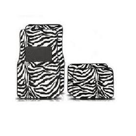 Cubre alfombras animal print - Cebra