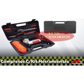 Compresor de aire con Kit de Herramientas