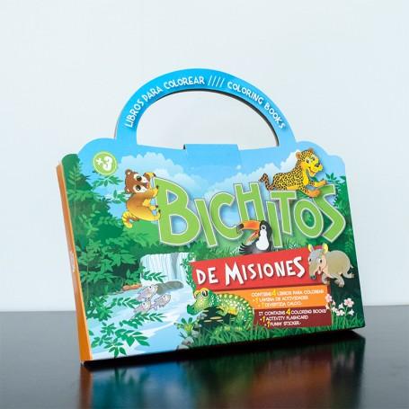 valija con Libros infantiles para colorear