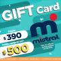 GIFT CARD MISTRAL- pagas $390 compras por $500