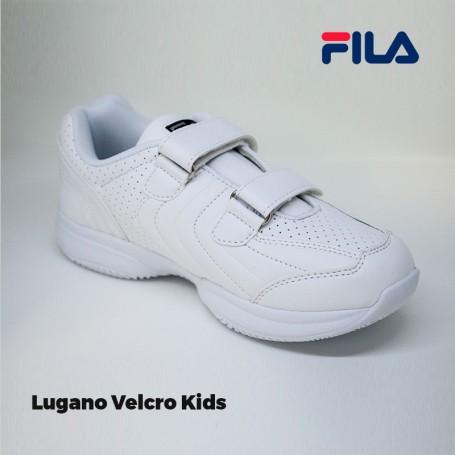 Zapatilla Fila Lugano Velcro Kids
