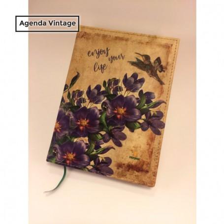 Agenda 2018 Vintage flores