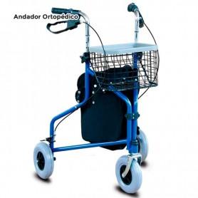 Andador Ortopédico de 3 Ruedas