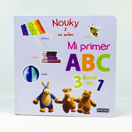 Tres libros en uno - Mi  primer ABC