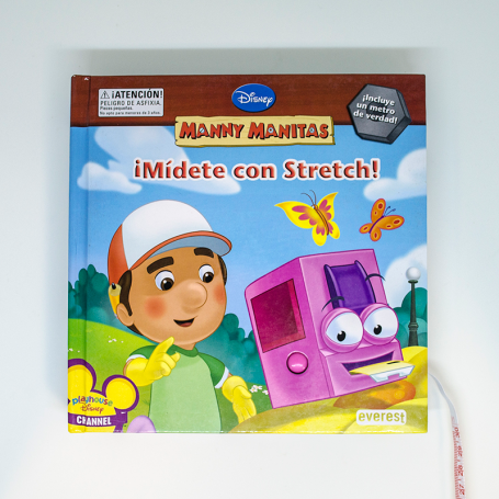 ¡Mídete con Stretch! Libro de Manny Manitas