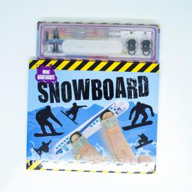 Mini habilidades- Libro con accesorios de Snowboard