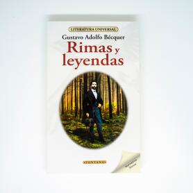 Libro- Rimas y Leyendas - Gustavo Adolfo Bécquer