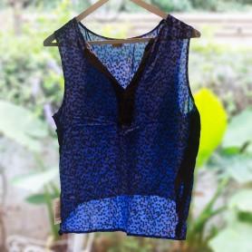 Musculosa de vestir Azul - La Paloma