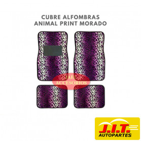 cubre alfombras animal print - Leopardo