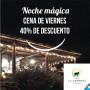 Voucher para cenar en Cabaña La Armonía - Viernes 25 de enero con 40% de descuento