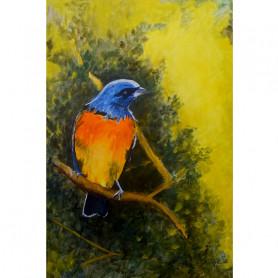 Obra de Arte Betty Wirz - Pájaro Naranjero - Ernesto Engel