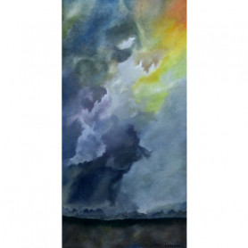 Obra de Arte Laura Bonifato - Cielo Tormentoso - Ernesto Engel