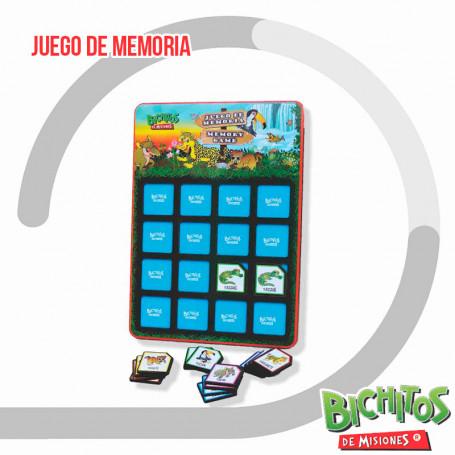 Juego de memoria - Bichitos de Misiones