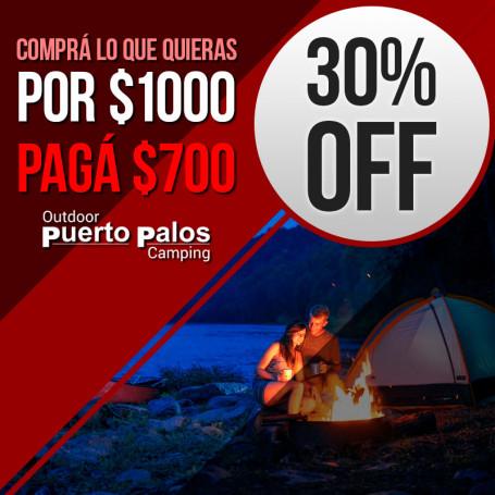 Voucher para Puerto Palo 30% off