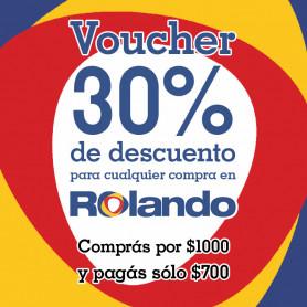 Voucher para Rolando Digital