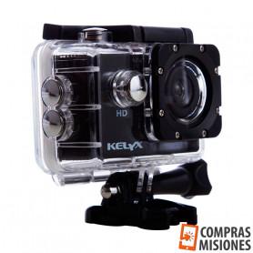 Camara Kelyx Action Cam Kl101+ 720p Sumergible 30 Metros