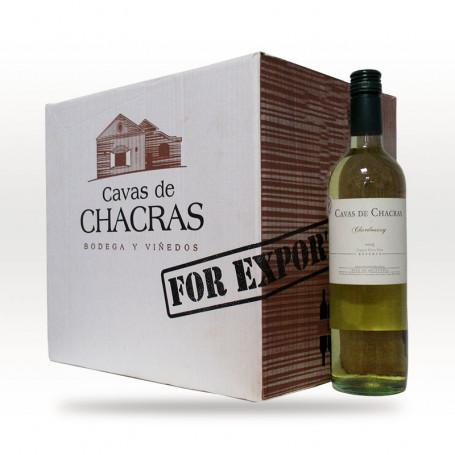 Caja de 6 botellas de Vinos Cavas de Chacras - Reserva Chardonnay