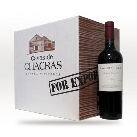 Caja de 6 botellas de Vinos Cavas de Chacras -  Reserva Cabernet Sauvignon