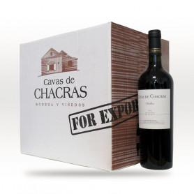 Caja de 6 botellas de Vinos Cavas de Chacras - Reserva Malbec