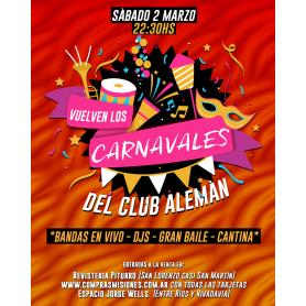 Vuelven los Carnavales del Club Alemán
