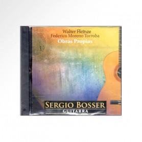 CD Sergio Bosser - Sólo Guitarra