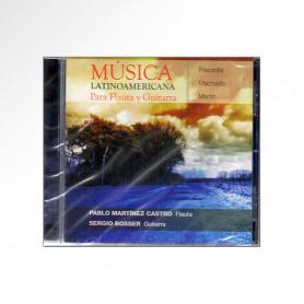 CD Música latinoamericana Para Flauta y Guitarra