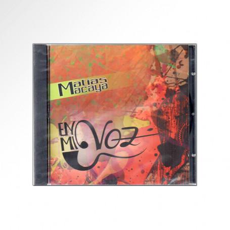 CD Matias Macaya - En Mi Voz