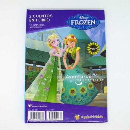 2 cuentos en 1 libro - Un invierno eterno- Frozen