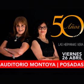 Las Hermanas Vera - 50 Años de Canto - Viernes 26 de abril