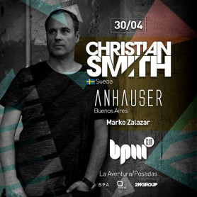 Christian Smith - BPM Club en La Aventura