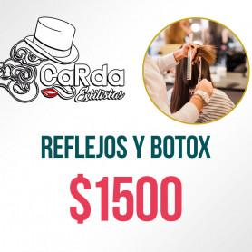Voucher para Reflejos y Botox - Carda Estilistas