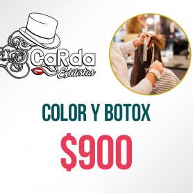 Voucher para Color y Botox - Carda Estilistas