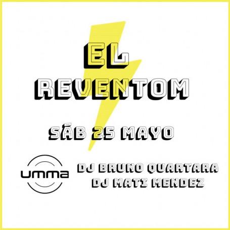 Entradas para la 3ra edición de la fiesta El Reventom
